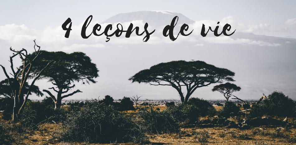 4 leçons de vie apprises au Rwanda